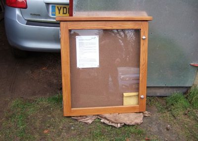 Holemoor Noticeboard Replacement