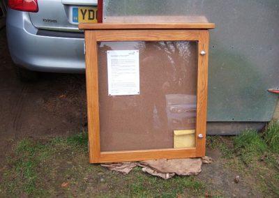 Holemoor Noticeboard Replacement