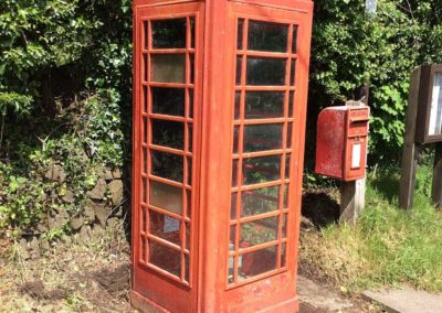 Priestacott Telephone Box Before