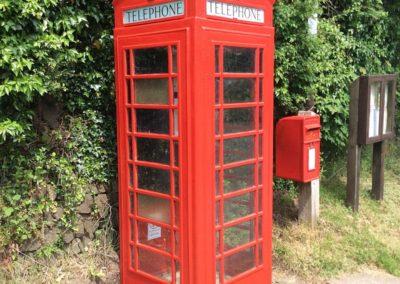 Priestacott Telephone Box After